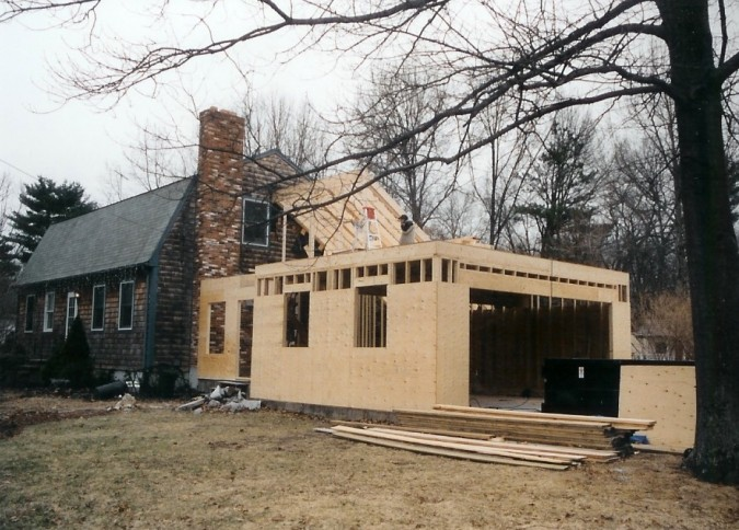 Garage addition canton colony home improvement for 2 car garage addition plans