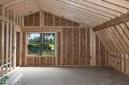 Should you build your hingham home addition on the first for Framing a second floor addition