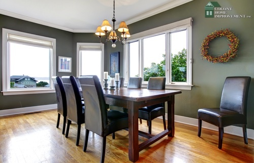 Add More Dining Space With A Home Addition.
