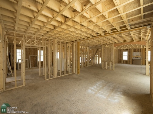 Evaluating your ranch style home for a second story for Framing a second floor addition