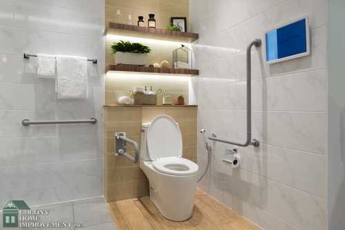 Bathroom Renovations For Seniors bathroom renovations for homeowners deciding to age-in place