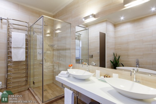If you're consider bathroom renovations, a walk-in shower is a must.