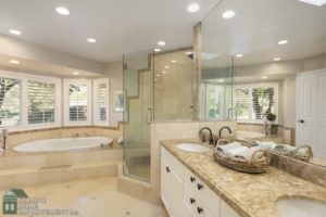 Enjoy the difference of bathroom renovations.