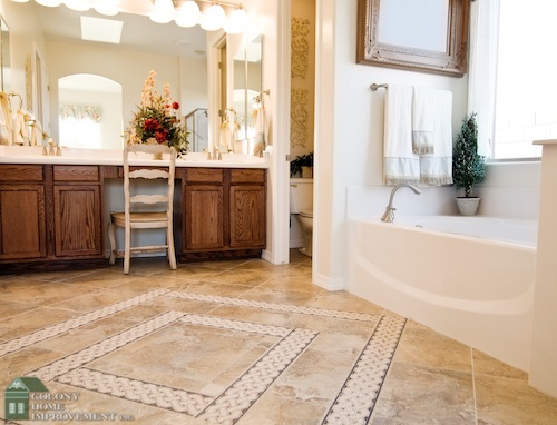 Upgrade your home with a bathroom remodel.