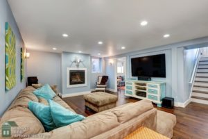 Design your basement with the help of remodeling contractors.