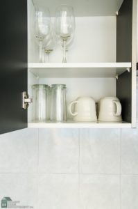 Talk to remodeling services about a butler's pantry.