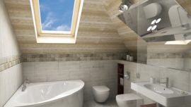 Your bathroom renovation can open up a windowless room.