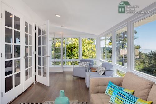 Add living space with sunroom additions.