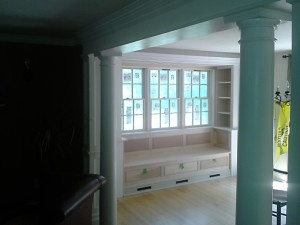 Custom Bay Window Built-In's