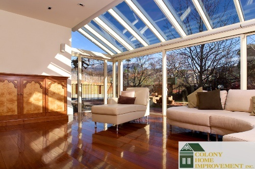 Skylights installation enhances the beauty of any home.